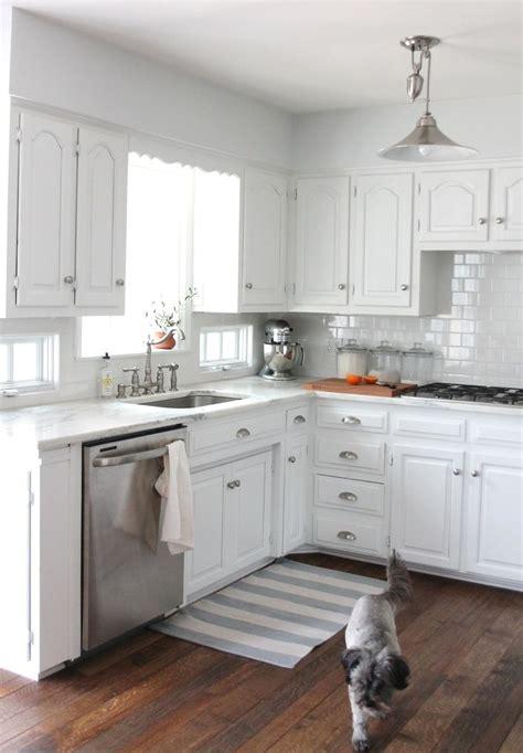 Kitchen Organization Ideas Small Spaces - white kitchen cabinets small kitchen kitchen and decor