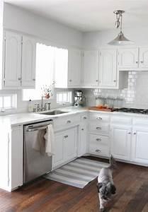 white kitchen cabinets small kitchen - Kitchen and Decor
