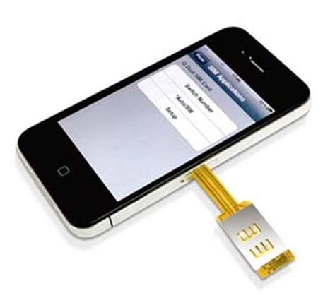 sim card iphone 5 split personality get an iphone dual sim card adapter