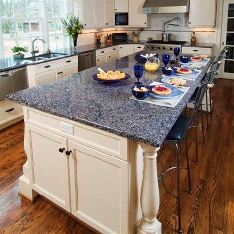 Fascinating Blue Granite Countertops In Modern And