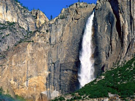 Nature Yosemite Falls National Park Picture