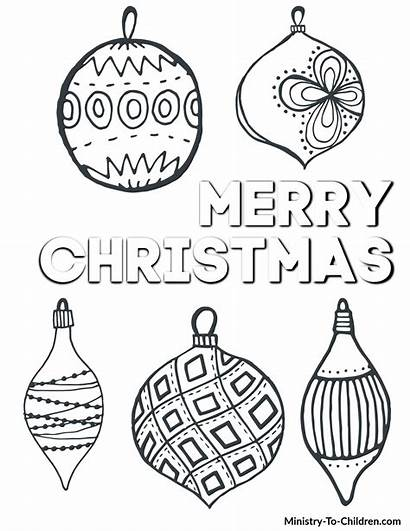 Coloring Children Printable Pdf Easy Ornament Craft