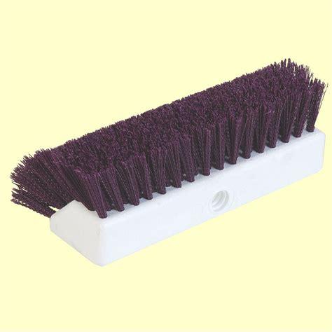 Deck Scrub Brush Home Depot by Unger 10 In Waterflow Bi Level Deck Scrub Brush 964820