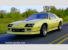 » 1985 Chevrolet Camaro Manufacturer Promo