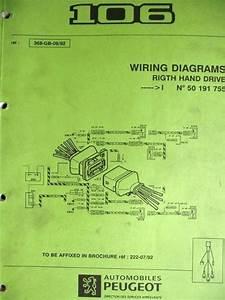 Peugeot 106 Wiring Diagram Manual 368 92 Listing In