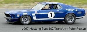 1967 Mustang Boss 302 TransAm - Peter Revson | Flickr - Photo Sharing!