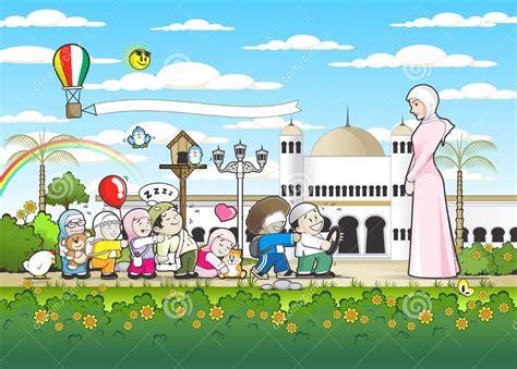 background animasi anak sekolah nusagates