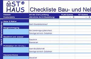 Checkliste Hausbau Kosten : ast haus checkliste kostenkontrolle bau und nebenkosten ~ Orissabook.com Haus und Dekorationen