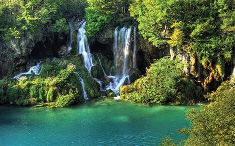 Thailand Wallpaper, Waterfall, River Jungle. Nature