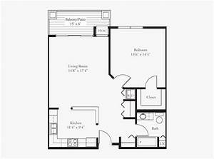 Floor, Plans, Png, -, 1, Bedroom, Condo, Layout, Free, Transparent, Clipart