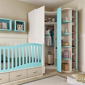 lit pour bebe garcon bc30 avec grands 4 coffres glicerio With chambre pour bebe garcon
