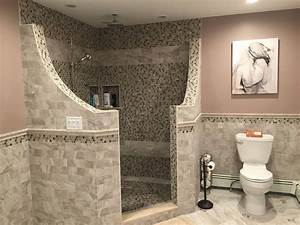 Awesome Design Doorless Shower — John Robinson Decor