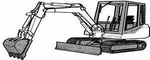 Bobcat 130 Hydraulic Excavator Factory Service  U0026 Shop