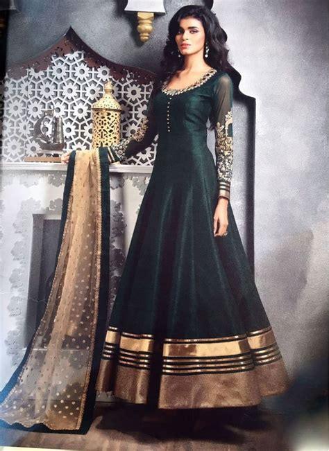 charismatic black bhagalpuri silk designer floor touch