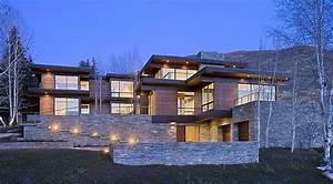 maison bois et pierre contemporaine par marmol radziner With amazing maison bois et pierre 0 maison moderne maison en pierre pierre et bois