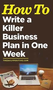 Killer business plan
