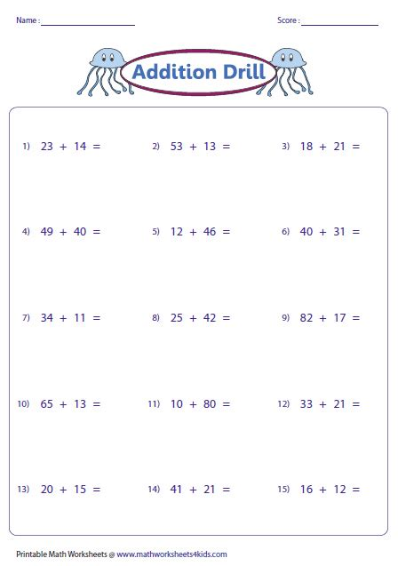 digits vertical subtraction with regrouping 2 digit addition worksheets
