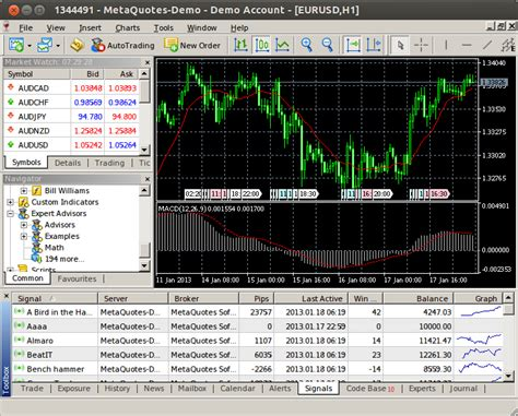 mt4 trader discussion of article quot metatrader 5 on linux quot metatrader