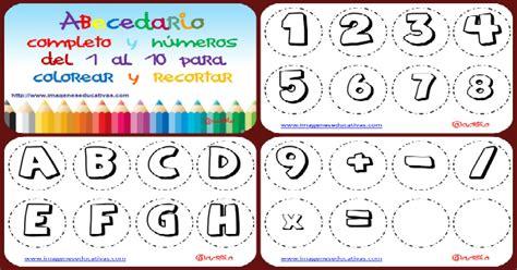 Abecedario para colorear Collage Portada Imagenes Educativas