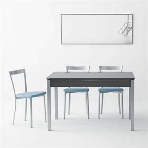 Petite Table Extensible : table de cuisine en verre extensible avec tiroir camel 4 ~ Teatrodelosmanantiales.com Idées de Décoration