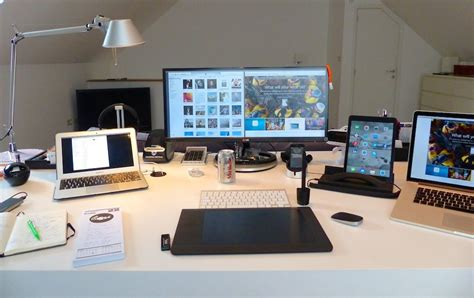 managing director mac desk setup desks pinterest mac