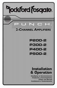 Rockford Fosgate Punch 200 2 Car Radio Download Manual For