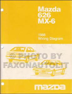 1988 Mazda 626  U0026 Mx