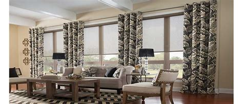 how to mix and match blinds and curtains together