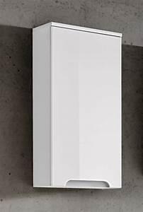 Badezimmer Hängeschrank Weiß : badezimmer h ngeschrank 75x35x20cm laxy weiss hochglanz ~ Watch28wear.com Haus und Dekorationen