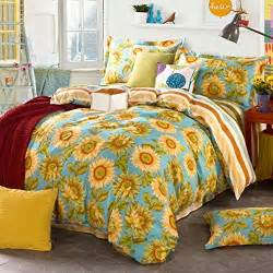 top 10 the most beautiful sunflower bedding sets