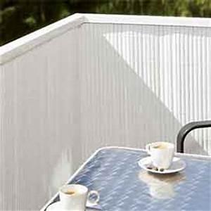 Sichtschutz Balkon Weiß : sichtschutz kunststoffmatten ~ Markanthonyermac.com Haus und Dekorationen