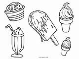 Ice Cream Coloring Pages Cone Cute Drawing Colouring Template Printable Float Truck Getdrawings Simple Templates Cool2bkids Sketch Hand sketch template