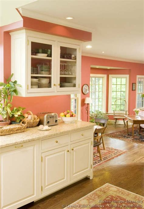 peach colored kitchen cabinets traditional white kitchen cabinets 10 crown point com