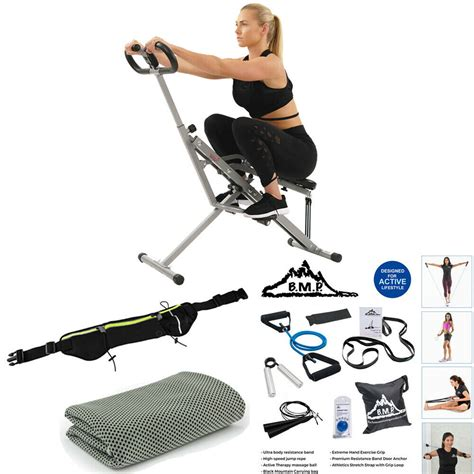 Sunny Health and Fitness Upright Squat Assist Row-N-Ride ...
