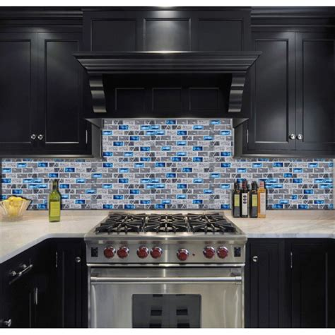 mosaic tiles backsplash kitchen blue glass tile kitchen backsplash subway marble bathroom