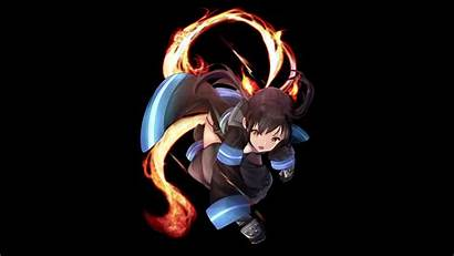 4k Force Fire Tamaki Kotatsu Wallpapers Anime