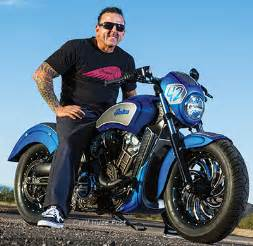 Custom Indian Scout Motorcycles