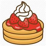 Pancake Clipart Pancakes Icon Strawberry Cream Dessert