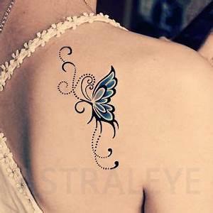 Tattoo Symbol Stärke : tattoos symbolizing strength and femininity tattoo stickers blue butterfly elegant red givlie ~ Frokenaadalensverden.com Haus und Dekorationen
