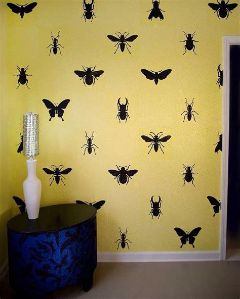 insect wallpaper  kids toentoeille   home wallpaper home decor wall wallpaper
