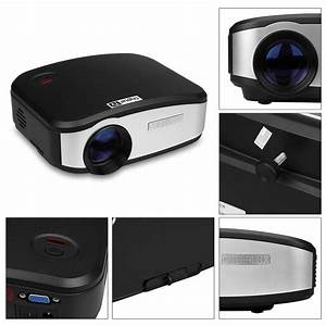Projecteur Home Cinema : 1080p 3d support 1200lumens led vid o projecteur home cin ma hdmi dtv fr stock ebay ~ Preciouscoupons.com Idées de Décoration