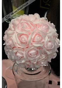 Boule De Rose : boule de rose 20cm rose ~ Teatrodelosmanantiales.com Idées de Décoration