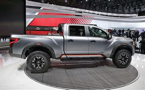 nissan tundra the nissan titan warrior concept could enter production