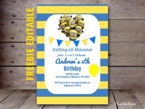 minion party printable birthday party ideas themes
