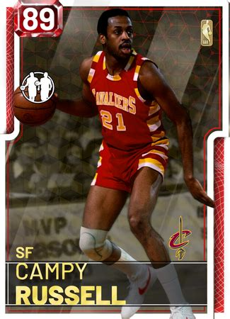 campy russell  myteam ruby card kmtcentral