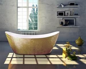 Freistehende Badewanne Günstig Kaufen : freistehende badewanne siena acryl gold 173 x 73 cm blattgold oberfl che badewelt whirlpool ~ Bigdaddyawards.com Haus und Dekorationen
