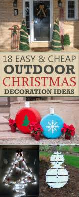 18 easy and cheap diy outdoor decoration ideas