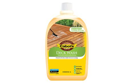 maintaining  timber deck  cabots deck wash
