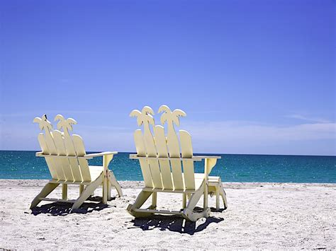 Beach Chairs Wallpaper Wallpapersafari
