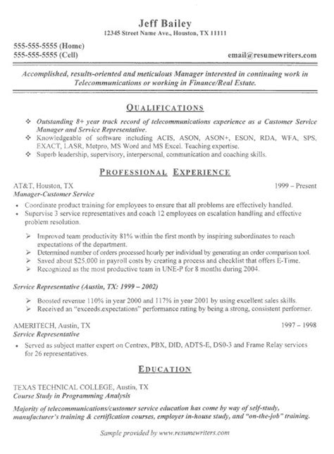 telecom configuration management resume